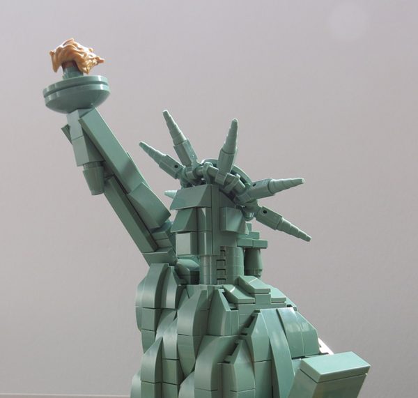 Bild von Statue of Liberty Face for Lego 21042