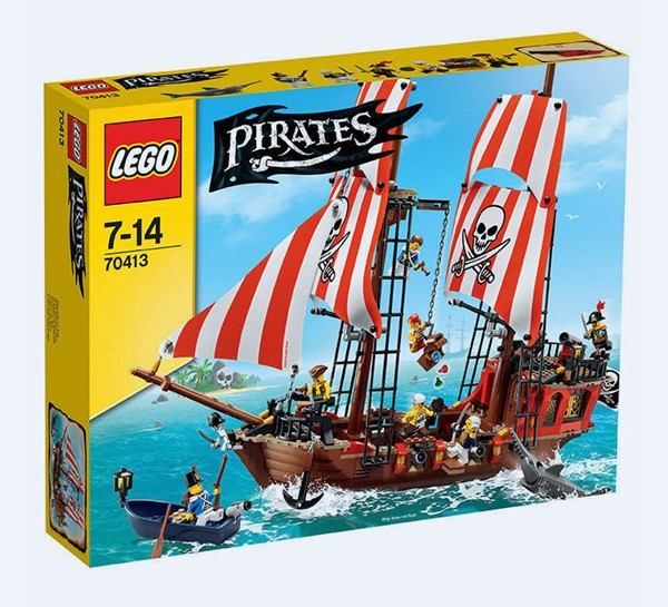 Bild von LEGO 70413 Pirates The Brick Bounty